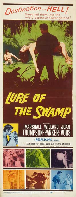 Lure of the Swamp - 11 x 17 Movie Poster - Style B
