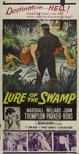 Lure of the Swamp - 11 x 17 Movie Poster - Style C