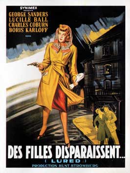 Lured - 27 x 40 Movie Poster - French Style A
