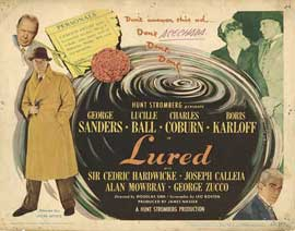 Lured - 22 x 28 Movie Poster - Half Sheet Style A