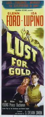 Lust for Gold - 14 x 36 Movie Poster - Insert Style A