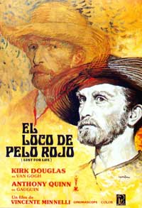 Lust for Life - 27 x 40 Movie Poster - Spanish Style A