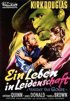 Lust for Life - 11 x 17 Movie Poster - German Style B