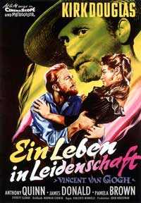 Lust for Life - 27 x 40 Movie Poster - German Style B