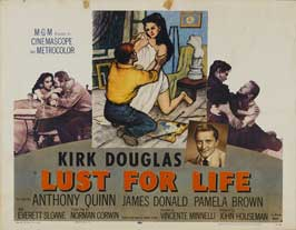 Lust for Life - 11 x 14 Movie Poster - Style M