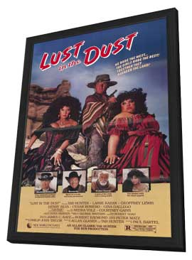 Lust in the Dust - 11 x 17 Movie Poster - Style A - in Deluxe Wood Frame
