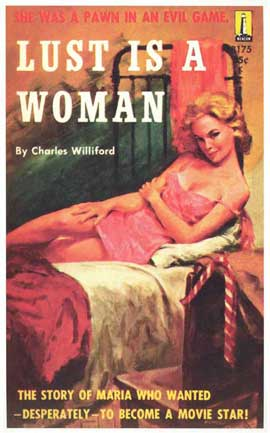 Lust is a Woman - 11 x 17 Retro Book Cover Poster