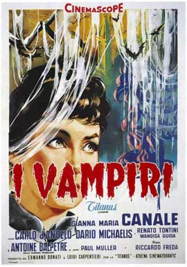 Lust of the Vampire - 11 x 17 Movie Poster - Italian Style A
