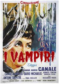 Lust of the Vampire - 27 x 40 Movie Poster - Italian Style A