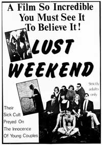 Lust Weekend - 11 x 17 Movie Poster - Style A