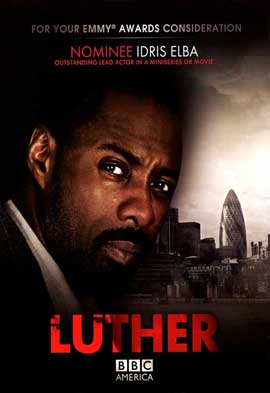 Luther (TV) - 11 x 17 TV Poster - Style A