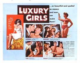 Luxury Girls - 22 x 28 Movie Poster - Half Sheet Style A