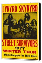 Lynyrd Skynyrd - 11 x 17 Movie Poster - Style A - Museum Wrapped Canvas