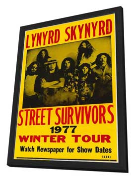 Lynyrd Skynyrd - 11 x 17 Movie Poster - Style A - in Deluxe Wood Frame