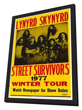 Lynyrd Skynyrd - 27 x 40 Movie Poster - Style A - in Deluxe Wood Frame