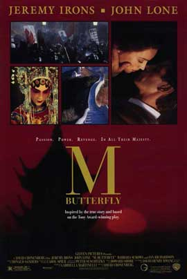 M. Butterfly - 11 x 17 Movie Poster - Style A