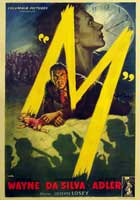 M - 11 x 17 Movie Poster - Italian Style A