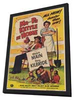 Ma & Pa Kettle at Home - 11 x 17 Movie Poster - Style A - in Deluxe Wood Frame