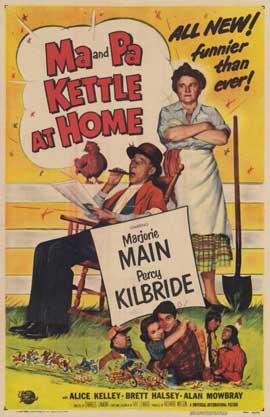 Ma & Pa Kettle at Home - 11 x 17 Movie Poster - Style A