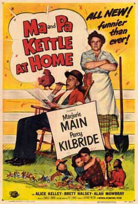 Ma & Pa Kettle at Home - 27 x 40 Movie Poster - Style A