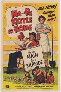 Ma & Pa Kettle at Home - 43 x 62 Movie Poster - Bus Shelter Style A