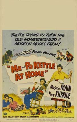 Ma and Pa Kettle at Home - 11 x 17 Movie Poster - Style A