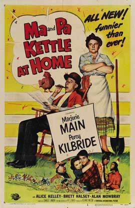 Ma and Pa Kettle at Home - 11 x 17 Movie Poster - Style B