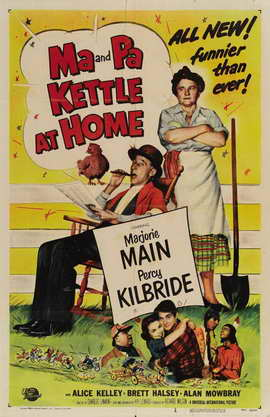 Ma and Pa Kettle at Home - 27 x 40 Movie Poster - Style A