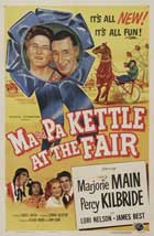 Ma and Pa Kettle at the Fair - 11 x 17 Movie Poster - Style A