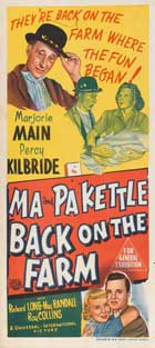 Ma and Pa Kettle at the Fair - 20 x 40 Movie Poster - Style A