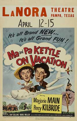 Ma and Pa Kettle at the Fair - 11 x 17 Movie Poster - Australian Style A