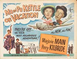 Ma and Pa Kettle at the Fair - 22 x 28 Movie Poster - Half Sheet Style A