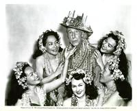 Ma and Pa Kettle at Waikiki - 8 x 10 B&W Photo #1