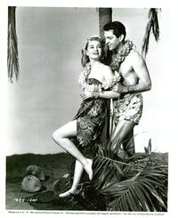 Ma and Pa Kettle at Waikiki - 8 x 10 B&W Photo #2