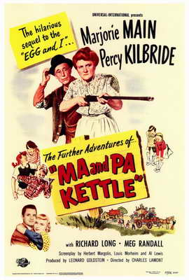 Ma and Pa Kettle - 27 x 40 Movie Poster - Style A