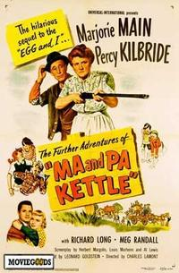 Ma and Pa Kettle - 43 x 62 Movie Poster - Bus Shelter Style A