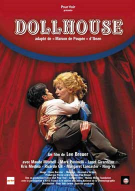 Mabou Mines Dollhouse - 11 x 17 Movie Poster - French Style A