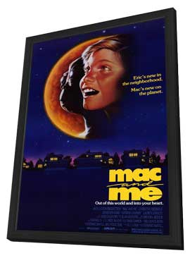 Mac and Me - 11 x 17 Movie Poster - Style A - in Deluxe Wood Frame