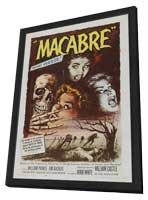 Macabre - 11 x 17 Movie Poster - Style A - in Deluxe Wood Frame