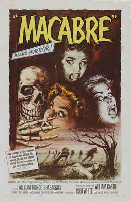 Macabre - 11 x 17 Movie Poster - Style A