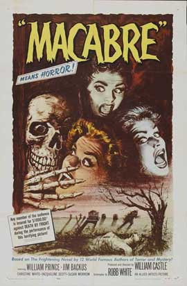 Macabre - 27 x 40 Movie Poster - Style A
