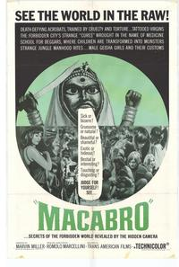 Macabro - 11 x 17 Movie Poster - Style A
