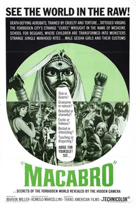 Macabro - 27 x 40 Movie Poster - Style B
