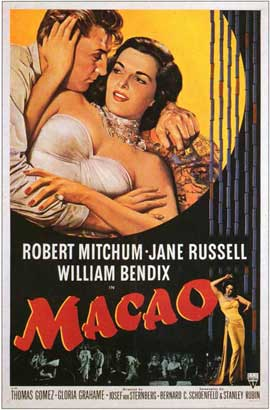 Macao - 11 x 17 Movie Poster - Style A