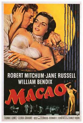 Macao - 27 x 40 Movie Poster - Style A