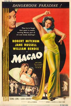 Macao - 11 x 17 Movie Poster - Style B