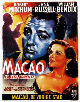 Macao - 11 x 17 Movie Poster - Belgian Style B