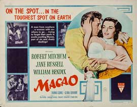 Macao - 22 x 28 Movie Poster - Half Sheet Style A