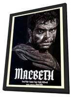 Macbeth - 11 x 17 Movie Poster - Style D - in Deluxe Wood Frame