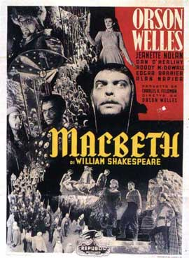 Macbeth - 11 x 17 Movie Poster - French Style A